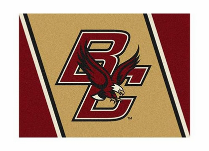 "Boston College 3'10"" x 5'4"" Premium Spirit Rug"