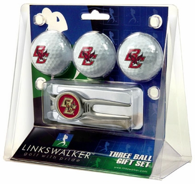 Boston College 3 Ball Gift Pack With Kool Tool