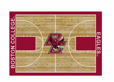 "Boston College 5'4"" x 7'8"" Premium Court Rug"