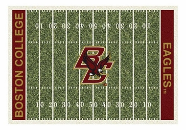 "Boston College 5'4"" x 7'8"" Premium Field Rug"