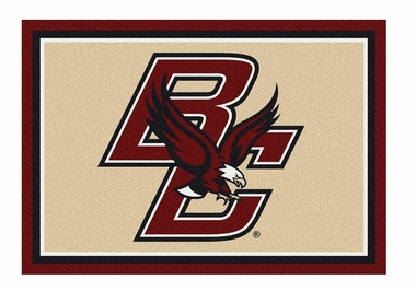 "Boston College 5'4"" x 7'8"" Premium Spirit Rug"