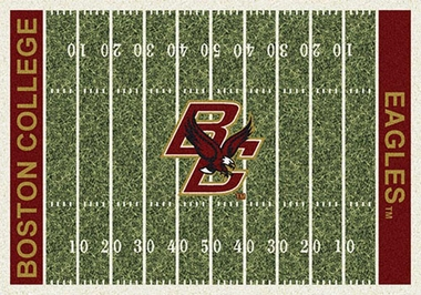 "Boston College 7'8"" x 10'9"" Premium Field Rug"