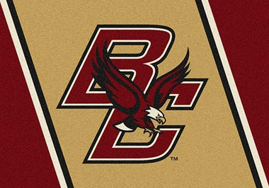 "Boston College 7'8"" x 10'9"" Premium Spirit Rug"