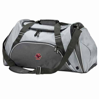 Boston College Action Duffle (Color: Grey)