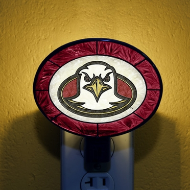 Boston College Art Glass Night Light