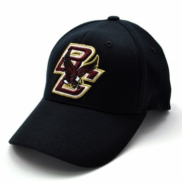 Boston College Black Premium FlexFit Hat