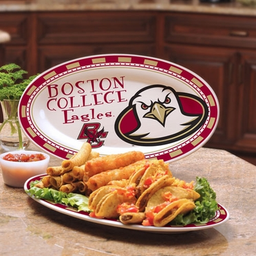 Boston College Ceramic Platter