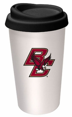 Boston College Ceramic Travel Cup