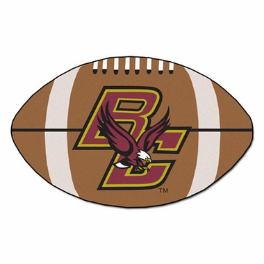 Boston College Football Shaped Rug