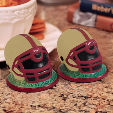 Boston College Helmet Ceramic Salt and Pepper Shakers