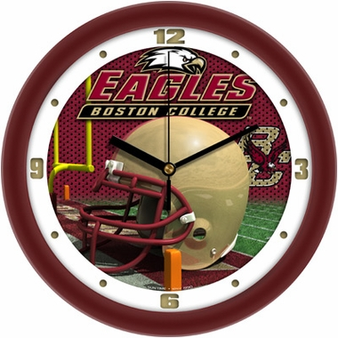 Boston College Helmet Wall Clock