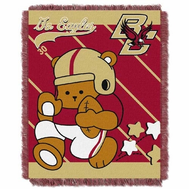 Boston College Jacquard BABY Throw Blanket