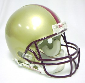 Boston College Riddell Full Size Authentic Helmet