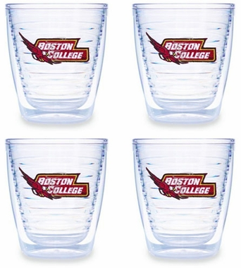 Boston College Set of FOUR 12 oz. Tervis Tumblers