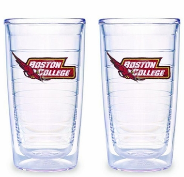 Boston College Set of TWO 16 oz. Tervis Tumblers