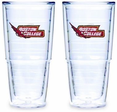 Boston College Set of TWO 24 oz. Tervis Tumblers