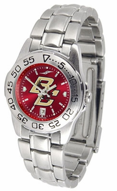 Boston College Sport Anonized Women's Steel Band Watch