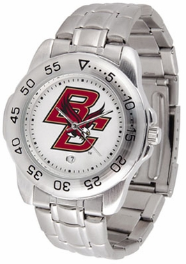 Boston College Sport Men's Steel Band Watch