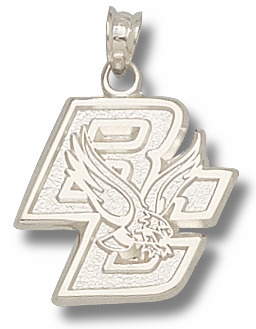 Boston College Sterling Silver Pendant