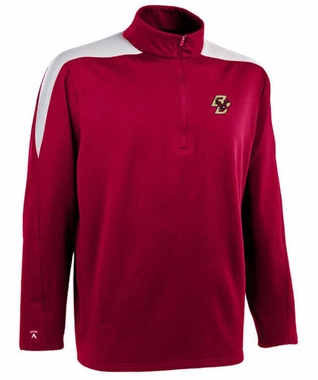 Boston College Mens Succeed 1/4 Zip Performance Pullover (Team Color: Maroon)