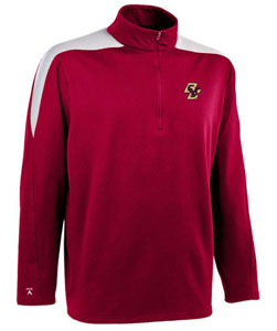 Boston College Mens Succeed 1/4 Zip Performance Pullover (Team Color: Maroon) - Large