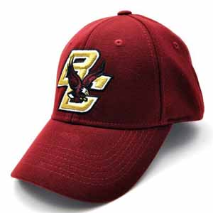 Boston College Team Color Premium FlexFit Hat - Small / Medium