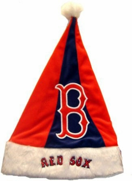 Boston Red Sox 07 Santa Hat