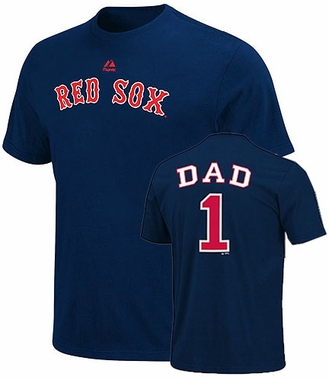 Boston Red Sox #1 Dad T-Shirt