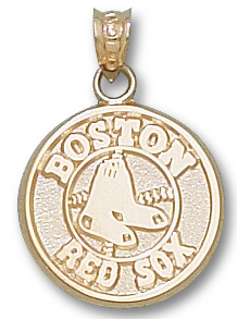 Boston Red Sox 10K Gold Pendant