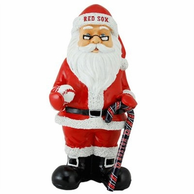 Boston Red Sox 11 Inch Resin Team Santa Figurine