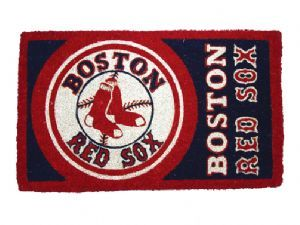 Boston Red Sox 18x30 Bleached Welcome Mat