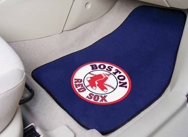 Boston Red Sox 2 Piece Car Mats