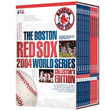 Boston Red Sox 2004 World Series Collecters Edition DVD Set
