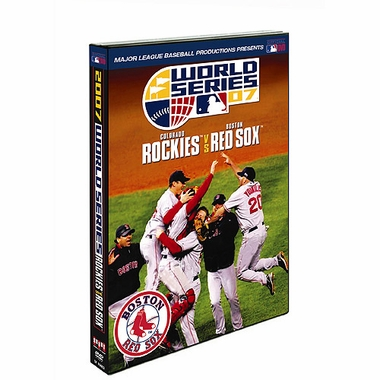 Boston Red Sox 2007 W.S. Champs World Series DVD
