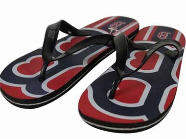 Boston Red Sox 2012 Unisex Big Logo Flip Flops - X-Large