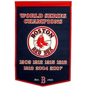 "Boston Red Sox 24""x36"" Dynasty Wool Banner"