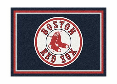 "Boston Red Sox 3'10"" x 5'4"" Premium Spirit Rug"