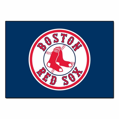 Boston Red Sox 34 x 45 Rug