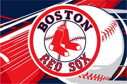 Boston Red Sox 40 x 60 Rug