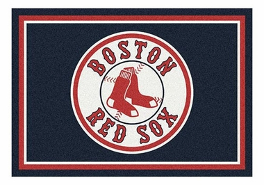 "Boston Red Sox 5'4"" x 7'8"" Premium Spirit Rug"