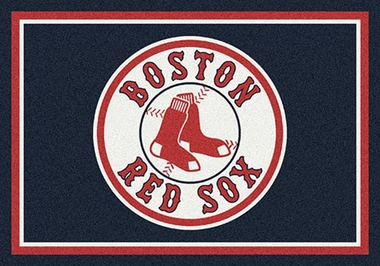 "Boston Red Sox 7'8"" x 10'9"" Premium Spirit Rug"