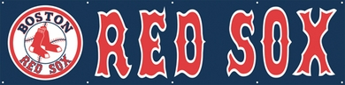 Boston Red Sox 8 Foot Banner