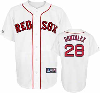 Boston Red Sox Adrian Gonzalez Replica Player Jersey - Medium