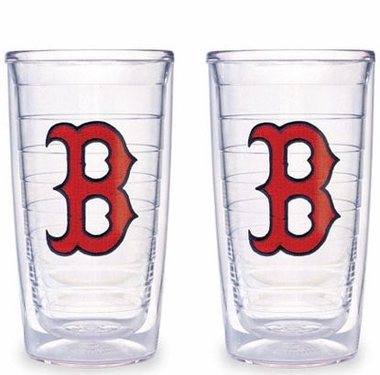 Boston Red Sox (B) Set of TWO 16 oz. Tervis Tumblers