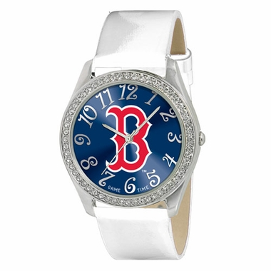 Boston Red Sox (B) Women's Glitz Watch