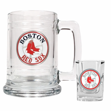 Boston Red Sox Boilermaker Set