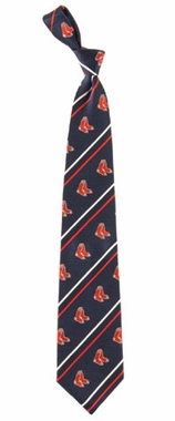 Boston Red Sox Cambridge Woven Silk Necktie