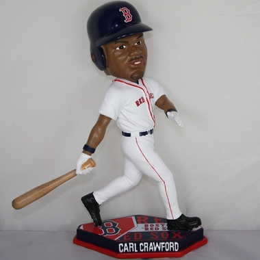 Boston Red Sox Carl Crawford 2011 Plate Base Bobblehead