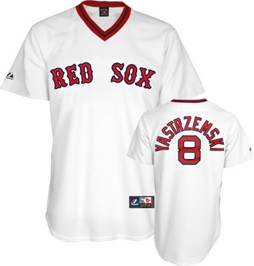Boston Red Sox Carl Yastrzemski Replica Throwback Jersey