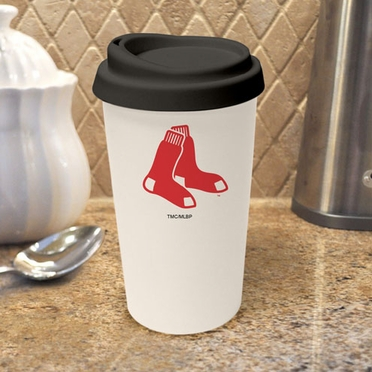 Boston Red Sox Ceramic Travel Cup